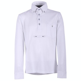 QHP Roan Junior Boys Competition Shirt - White