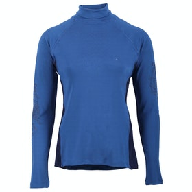 Top Seconde Peau Femme QHP Sport Anniek - Blue