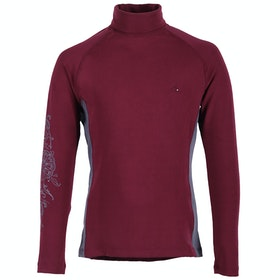 Top de base interior QHP Sport Anniek - Burgundy