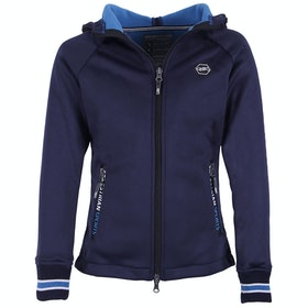 QHP Susy Girls Track Jacket - Navy