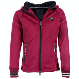 QHP Susy Girls Track Jacket - Raspberry