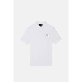 Polo Fred Perry x RAF Simons Laurel Detail - White
