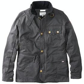 Peregrine Made In England Bexley Wax Jacket - Gunmetal