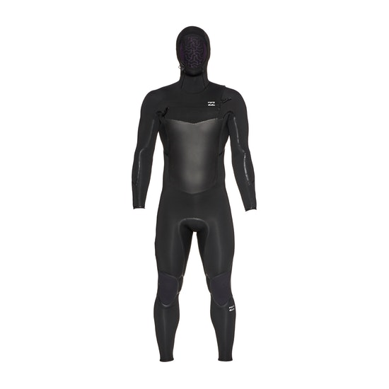 Billabong Furnace Absolute X 5/4mm Chest Zip Hooded Wetsuit