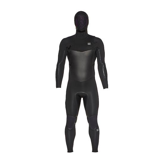 Billabong Furnace Absolute X 5/4mm 2020 Chest Zip Hooded Mens Wetsuit