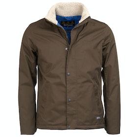 Barbour Scout Waterproof Jacket - Dark Olive