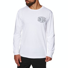 Deus Ex Machina Venice Long Sleeve T-Shirt - White