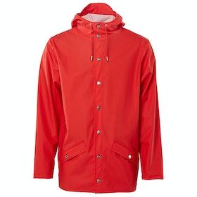 Rains Classic Waterproof Jacket - Red