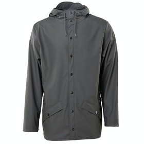 Rains Classic Waterproof Jacket - 18 Charcoal