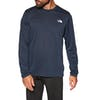 Top deportivo North Face Long Sleeve Reaxion Amp TShirt - Montague Blue Heather