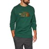 North Face Drew Peak Crew Sweater - Night Green