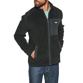 Burton Hearth Full Zip Fleece - True Black