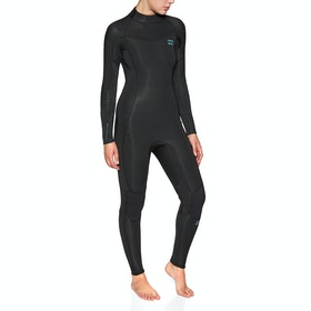 Billabong Furnace Synergy 4/3mm Back Zip Wetsuit - Black