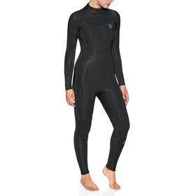 Billabong Furnace Synergy 5/4mm Back Zip Wetsuit - Black
