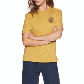 Santa Cruz Natas Mono Short Sleeve T-Shirt - Bronze