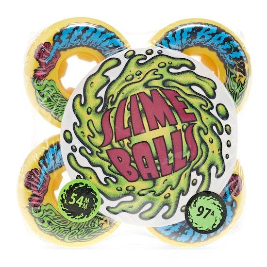 Santa Cruz Slime Balls Vomit Mini 97a Skateboard Wheel