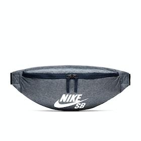 Sac banane Nike SB Heritage AOP Chambray - Obsidian Obsidian Sail