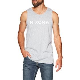 Camiseta sin mangas Nixon Basis II - Dark Gray Heather