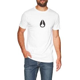 Camiseta de manga corta Nixon Wings II - White