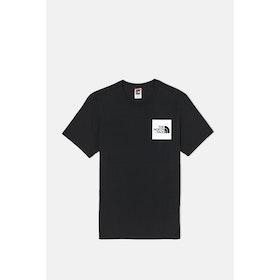 T-Shirt a Manica Corta North Face Capsule Fine - TNF Black