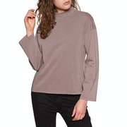 Brixton Anne Mock Neck Womens Sweater