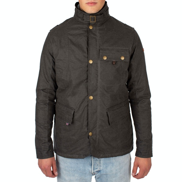 Peregrine Made In England Bexley Wax Jacket