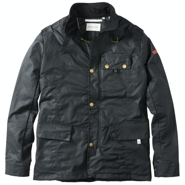 Wax Jacket Peregrine Made In England Bexley