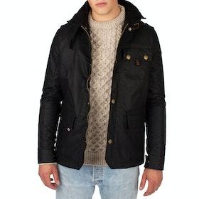 Peregrine Made In England Bexley Wax Jacket - Black