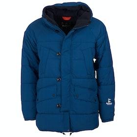 Barbour Alpine Quilt Jacket - Peacock Blue