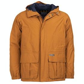 Barbour Ashton Waterproof Jacket - Tumeric