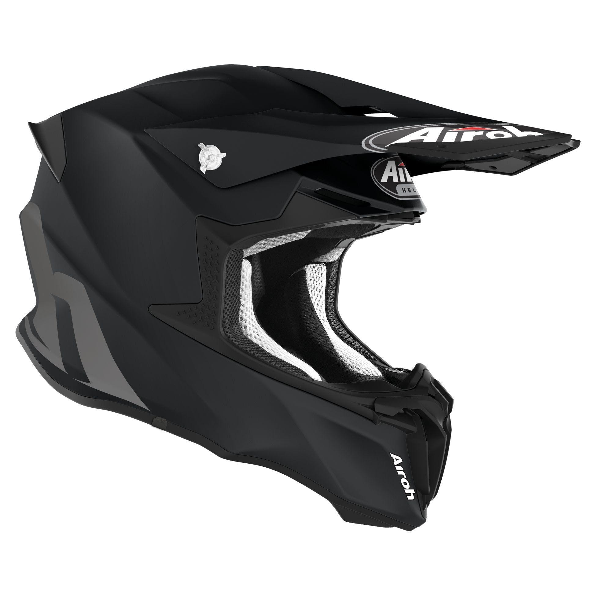 research.unir.net New 2020 Airoh Twist 2.0 Matt Black Helmet ...