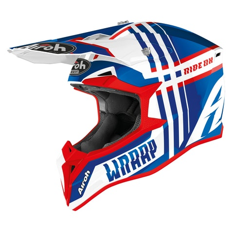 Airoh Wraap Broken MX-Helm
