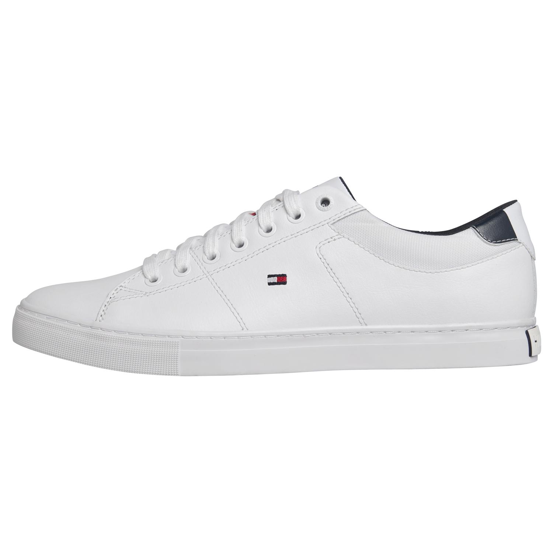 Tommy Hilfiger Essential Leather Schuhe White Verkauf bei