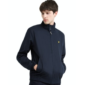 Lyle & Scott Vintage Harrington Herren Jacke - Dark Navy