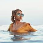 Quay Australia High Key Rimless Women's Sunglasses