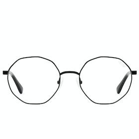 Glasses Quay Australia Eclectic - Black ~ Clear Blue Light