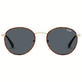 Quay Australia Omen Women's Sunglasses - Orange Tort ~ Navy