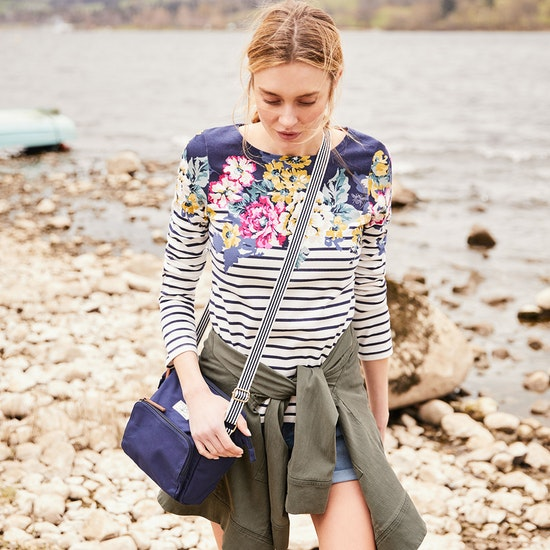 Joules Harbour Print Ladies Top