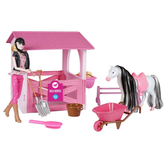 Horka Horse Stable Toy