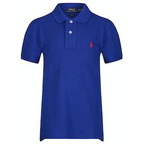 Polo Ralph Lauren Basic Mesh Slim Boy's Polo Shirt - Rugby Royal