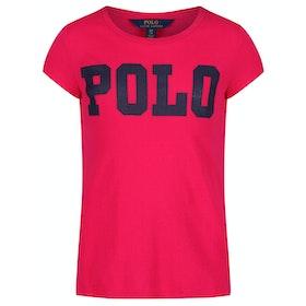 Polo Ralph Lauren Short Sleeved Polo Shirt - Sport Pink