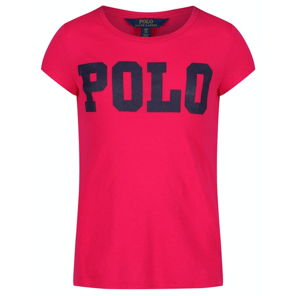 Ralph Lauren Short Sleeved Girl's Polo Shirt