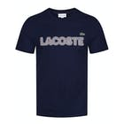 Lacoste Embroidered Cotton Jersey Kurzarm-T-Shirt