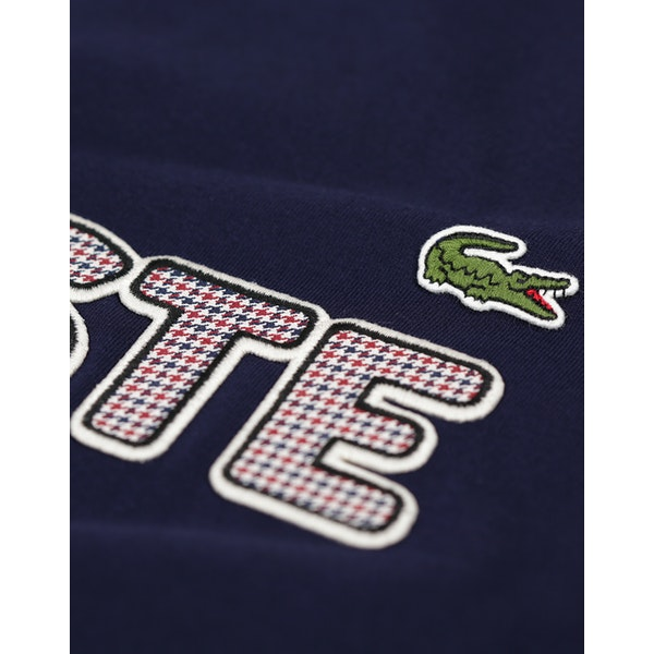 Camiseta de manga corta Lacoste Embroidered Cotton Jersey