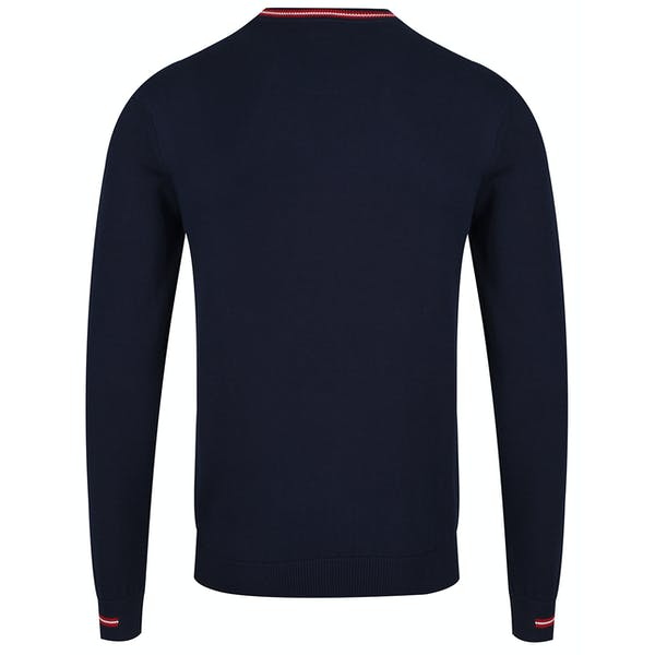 Lacoste Embroidered Jersey Cotton Pullover