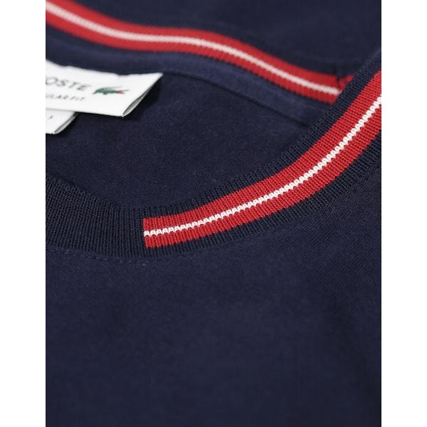 T-Shirt à Manche Courte Lacoste Supple Jersey