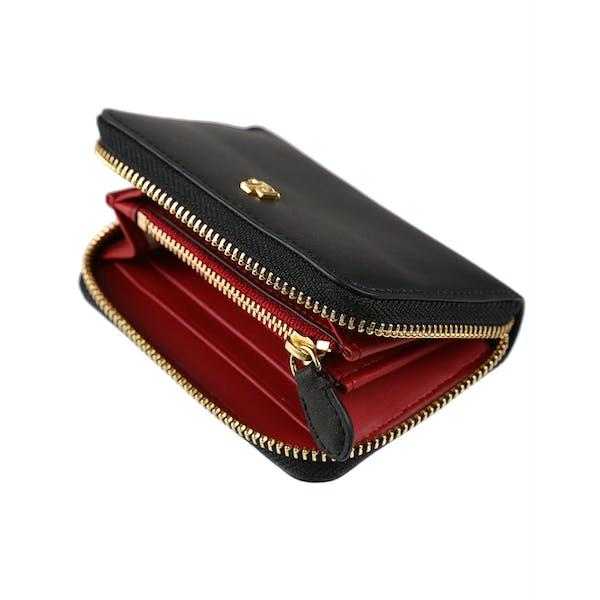 uk store top quality latest fashion Ralph Lauren Zip Small Damen Brieftasche - Black Crimson ...