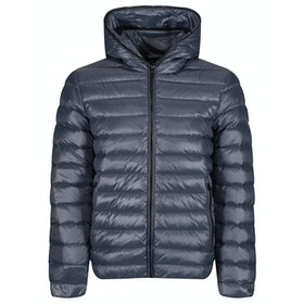 Giacca EA7 Mountain Hooded Down - Ombre Blue
