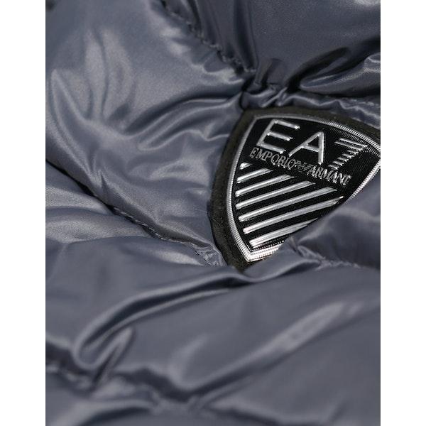 EA7 Mountain Hooded Down Jacket