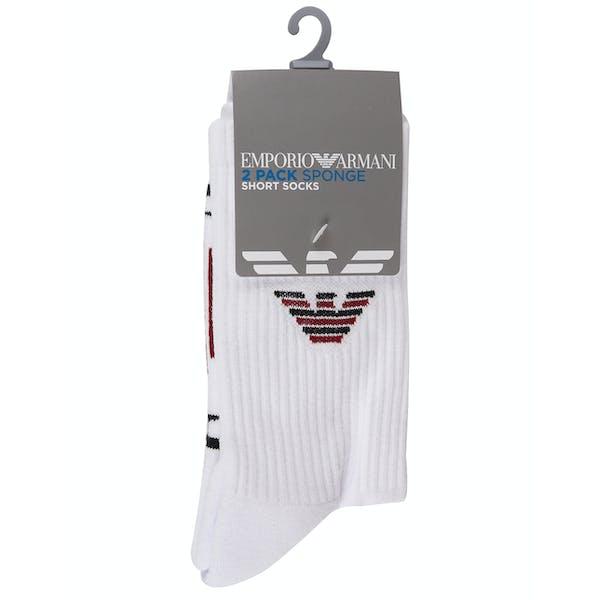 Emporio Armani 2 Pack Knit Short Socken